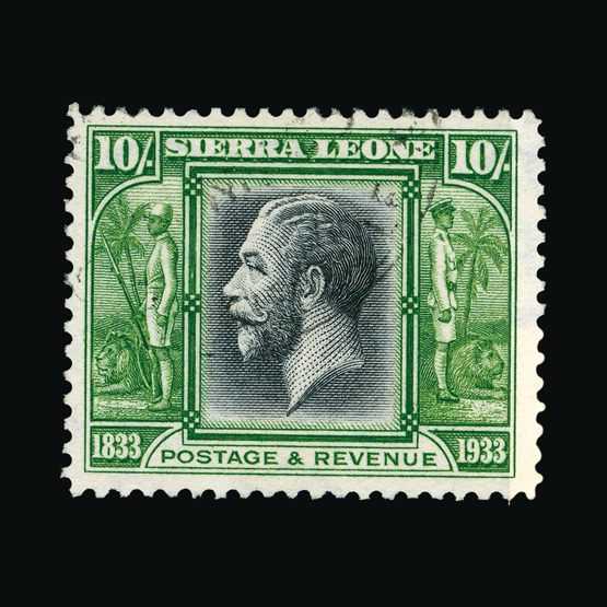 Lot 17813 - sierra leone 1933 -  Universal Philatelic Auctions Sale #77 worldwide Collections