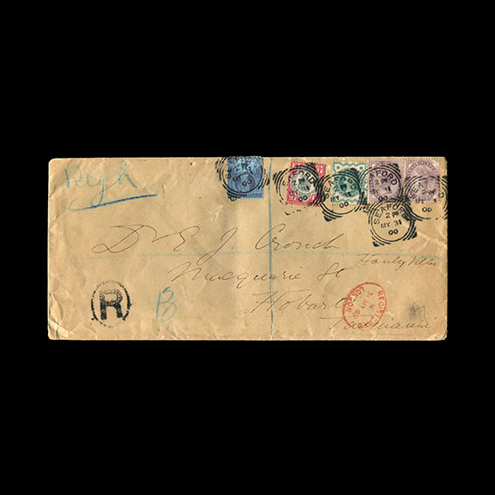 Lot 19950 - Great Britain - Covers - QV 1900 -  Universal Philatelic Auctions Sale #77 worldwide Collections