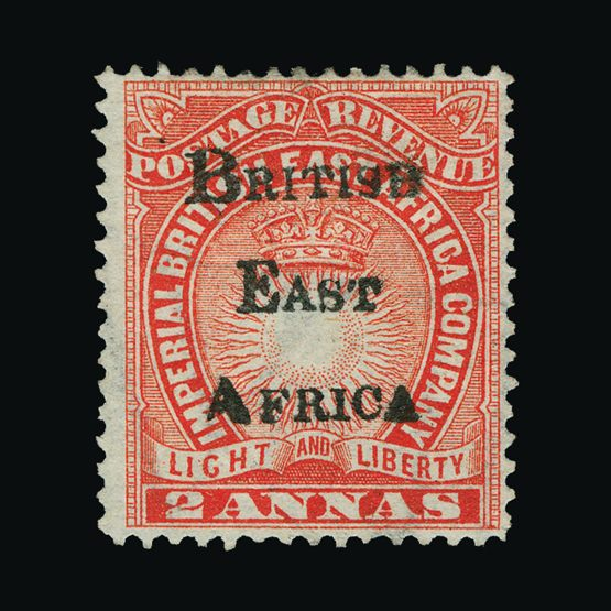 Lot 2040 - british east africa 1895 -  Universal Philatelic Auctions Sale #77 worldwide Collections