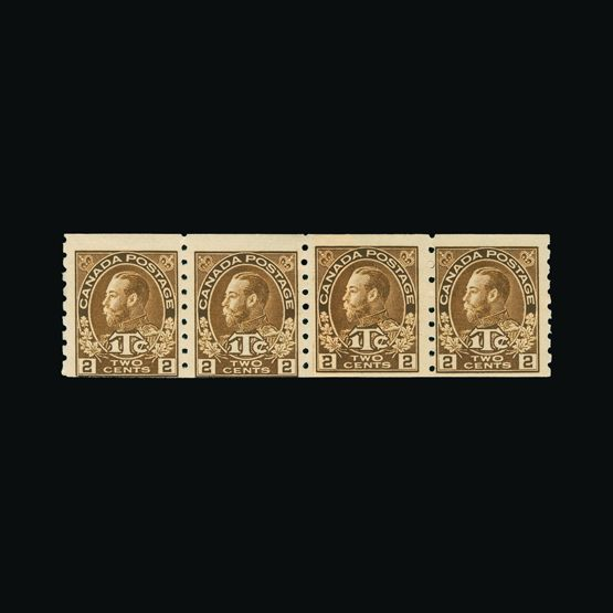 Lot 2783 - Canada 1916 -  Universal Philatelic Auctions Sale #77 worldwide Collections