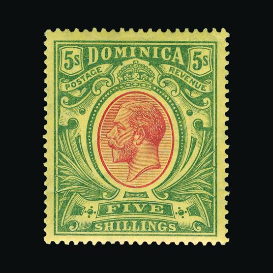 Lot 4227 - dominica 1908-20 -  Universal Philatelic Auctions Sale #77 worldwide Collections