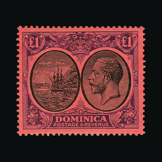 Lot 4233 - dominica 1923-33 -  Universal Philatelic Auctions Sale #77 worldwide Collections