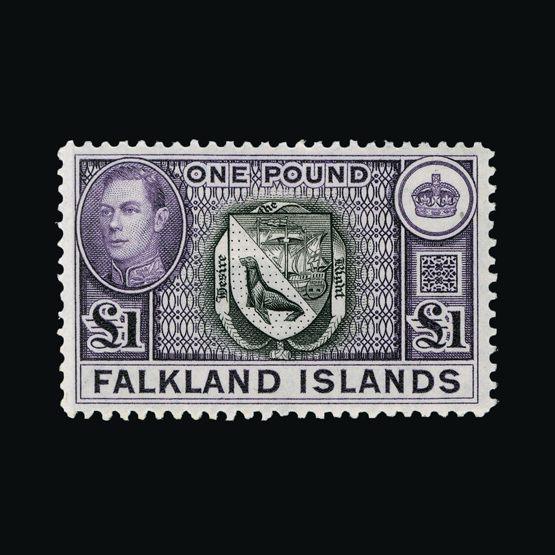 Lot 4550 - falkland islands 1938-50 -  Universal Philatelic Auctions Sale #77 worldwide Collections