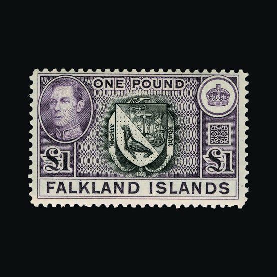 Lot 4555 - falkland islands 1938-50 -  Universal Philatelic Auctions Sale #77 worldwide Collections