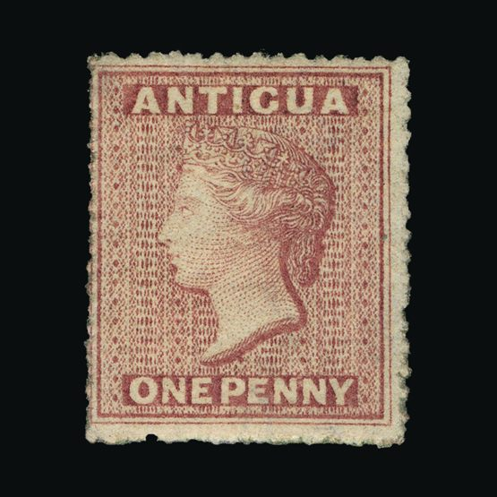 Lot 459 - antigua 1863-67 -  Universal Philatelic Auctions Sale #77 worldwide Collections