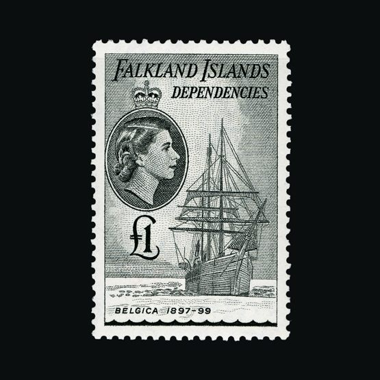 Lot 4674 - Falkland Islands - Dependencies 1954-62 -  Universal Philatelic Auctions Sale #77 worldwide Collections