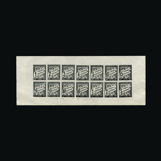 Lot 4951 - France 1910 -  Universal Philatelic Auctions Sale #77 worldwide Collections