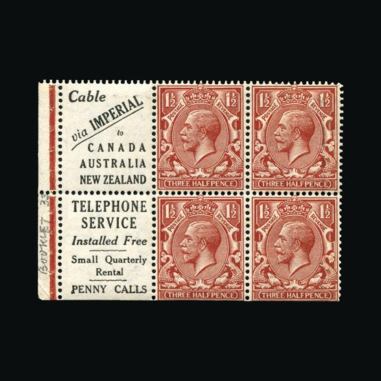 Lot 9744 - Great Britain - KGV 1924 -  Universal Philatelic Auctions Sale #77 worldwide Collections