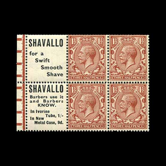 Lot 9746 - Great Britain - KGV 1924 -  Universal Philatelic Auctions Sale #77 worldwide Collections