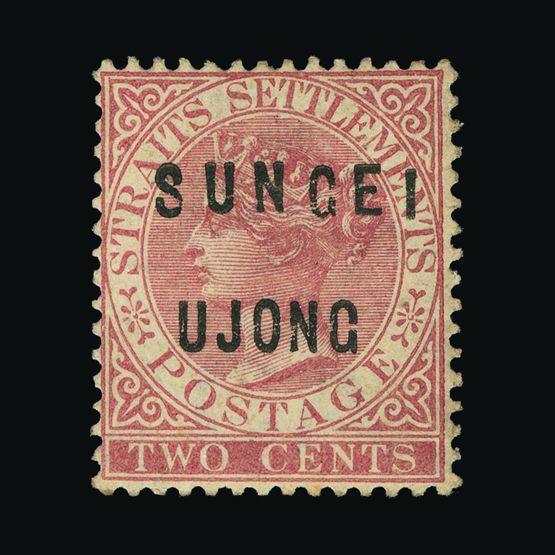 Lot 13605 - Malaya - Sungei Ujong 1882-84 -  UPA UPA Sale #78 worldwide Collections