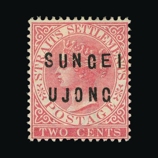 Lot 13606 - Malaya - Sungei Ujong 1882-84 -  UPA UPA Sale #78 worldwide Collections
