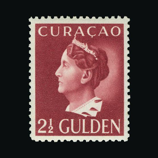 Lot 14450 - Netherlands - Colonies - Curacao 1941-42 -  Universal Philatelic Auctions Sale #78 worldwide Collections