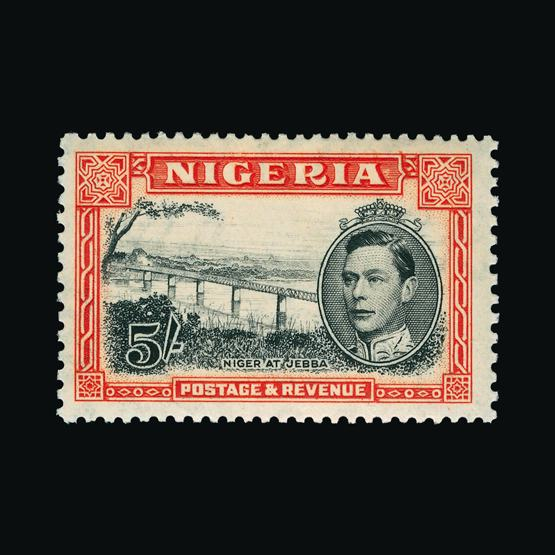 Lot 15107 - nigeria 1938 - 1951 -  Universal Philatelic Auctions Sale #78 worldwide Collections