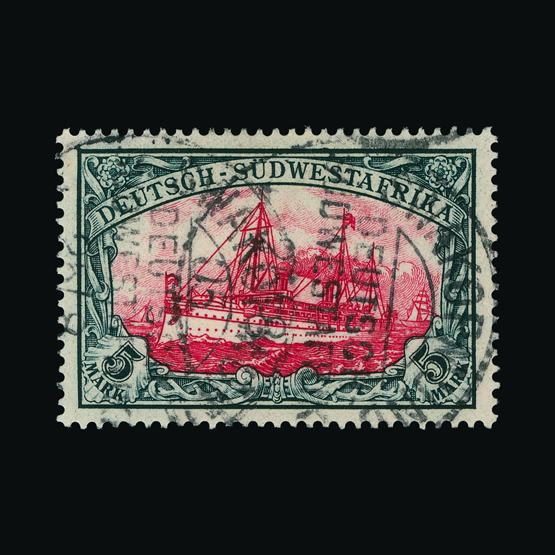 Lot 6483 - Germany - Colonies - South West Africa 1901 -  Universal Philatelic Auctions Sale #78 worldwide Collections
