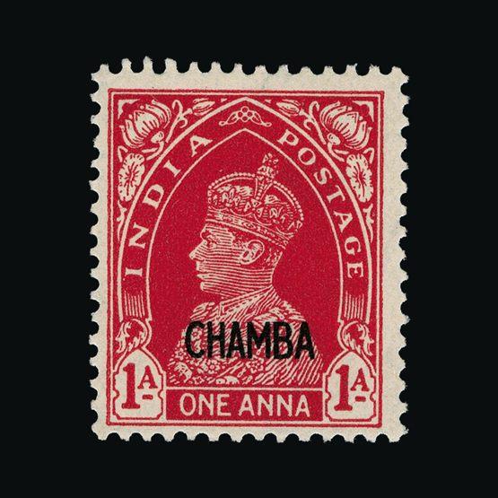 Lot 10635 - India - States - Chamba 1942-47 -  UPA UPA Sale #79 worldwide Collections