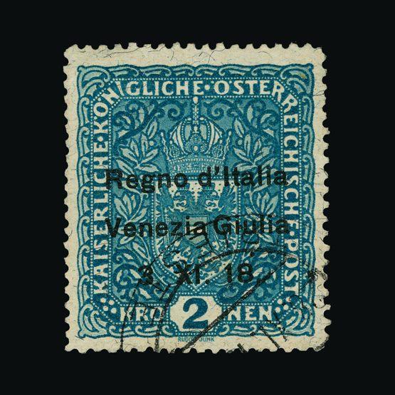 Lot 11290 - Italy - Colonies - Venezia Giulia 1918 -  UPA UPA Sale #79 worldwide Collections