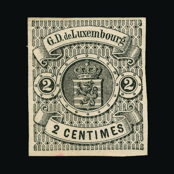 Lot 12017 - Luxembourg 1860 -  UPA UPA Sale #79 worldwide Collections