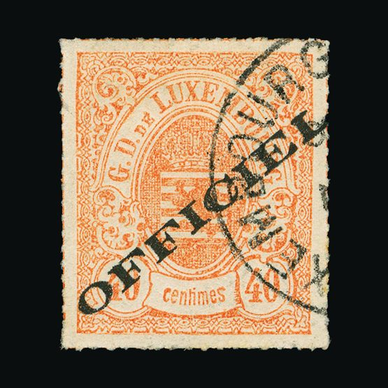 Lot 12021 - Luxembourg 1875 -  UPA UPA Sale #79 worldwide Collections