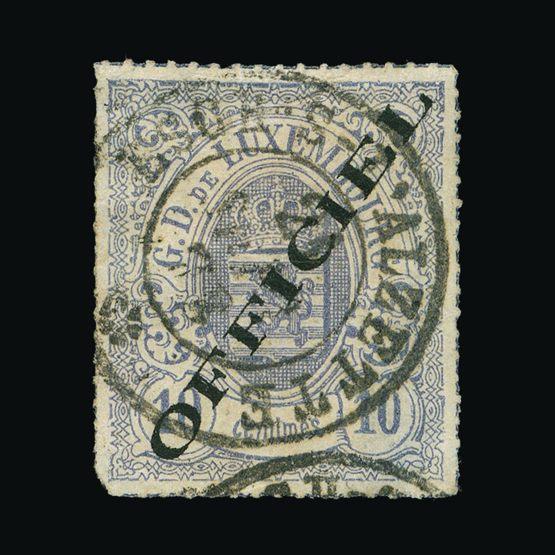 Lot 12023 - Luxembourg 1875-80 -  UPA UPA Sale #79 worldwide Collections