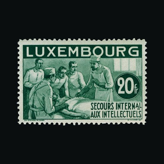 Lot 12061 - Luxembourg 1935 -  UPA UPA Sale #79 worldwide Collections