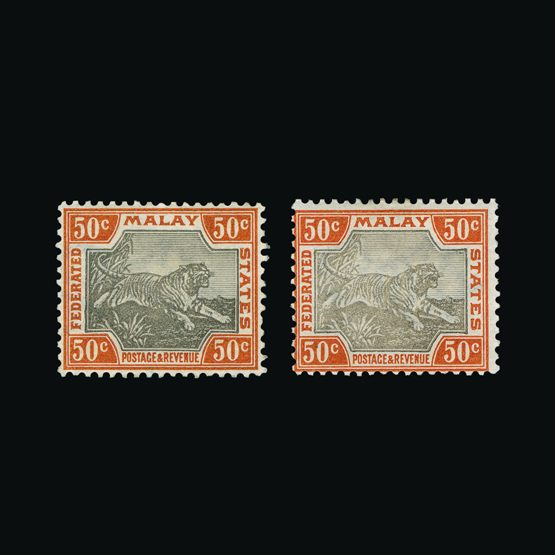 Lot 12254 - Malaya - Federated Malay States 1900-01 -  UPA UPA Sale #79 worldwide Collections