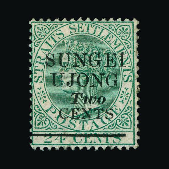 Lot 12636 - Malaya - Sungei Ujong 1891 -  UPA UPA Sale #79 worldwide Collections