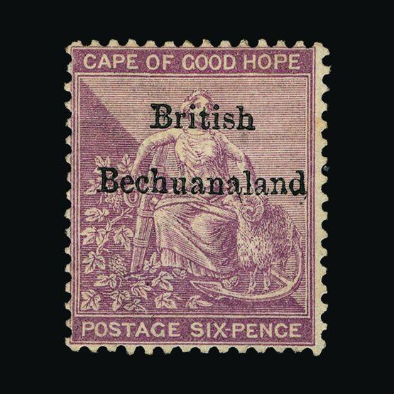 Lot 1285 - bechuanaland 1885-87 -  UPA UPA Sale #79 worldwide Collections