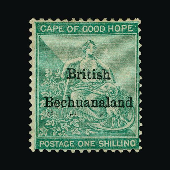 Lot 1286 - bechuanaland 1885-87 -  UPA UPA Sale #79 worldwide Collections