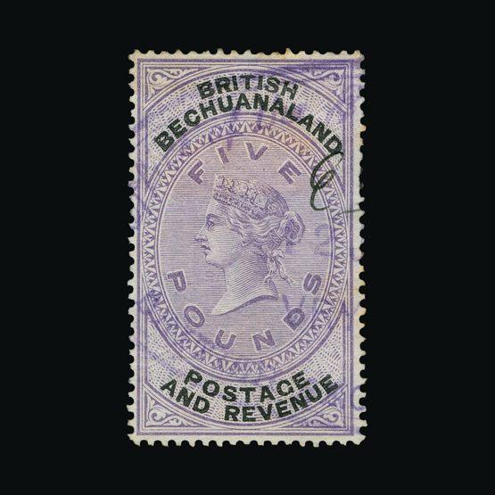 Lot 1289 - bechuanaland 1888 -  UPA UPA Sale #79 worldwide Collections