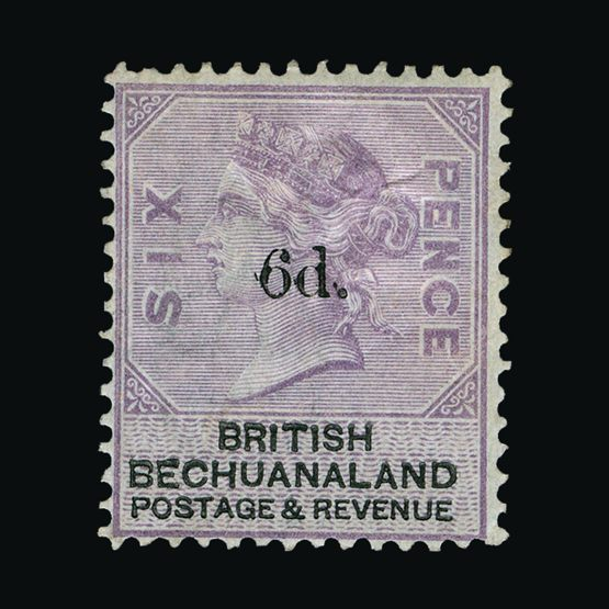 Lot 1290 - bechuanaland 1888 -  UPA UPA Sale #79 worldwide Collections