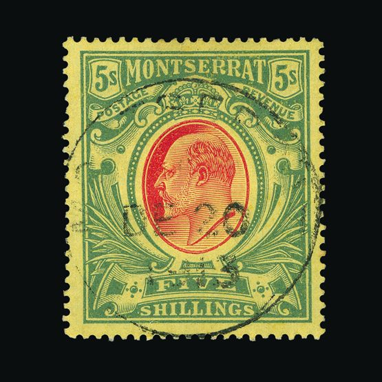Lot 13100 - montserrat 1908-14 -  UPA UPA Sale #79 worldwide Collections