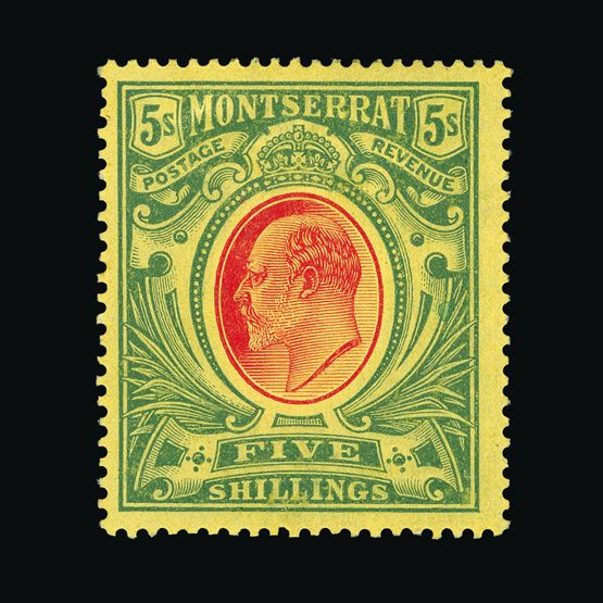 Lot 13101 - montserrat 1908-14 -  UPA UPA Sale #79 worldwide Collections