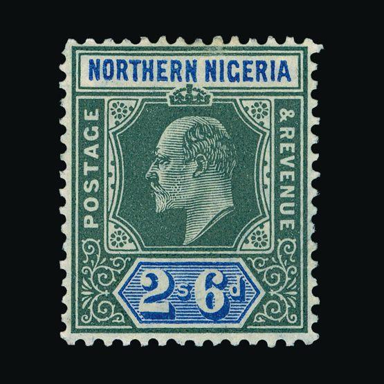 Lot 14095 - Nigeria - Northern Nigeria 1905-07 -  UPA UPA Sale #79 worldwide Collections