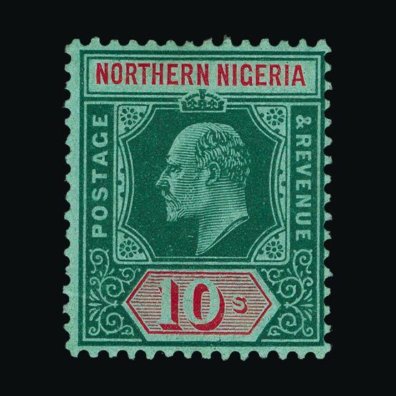 Lot 14099 - Nigeria - Northern Nigeria 1910-11 -  UPA UPA Sale #79 worldwide Collections