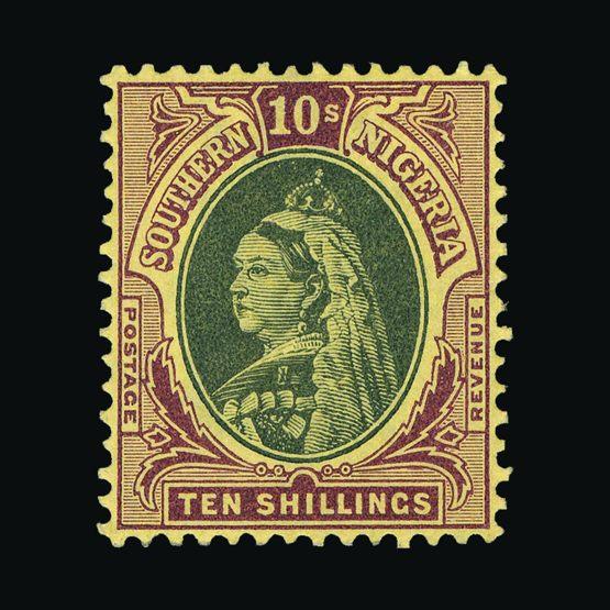 Lot 14105 - nigeria - southern nigeria 1901-02 -  UPA UPA Sale #79 worldwide Collections