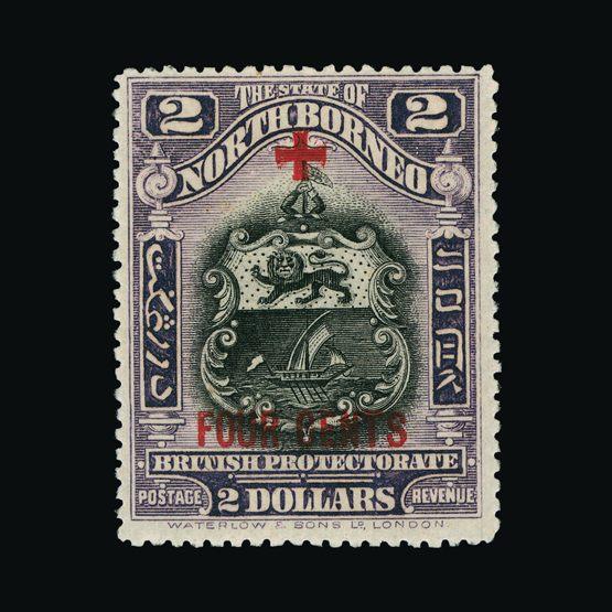 Lot 14202 - north borneo 1918 -  UPA UPA Sale #79 worldwide Collections