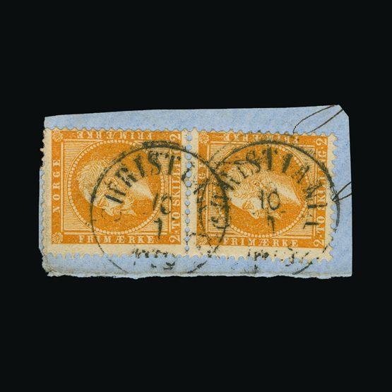 Lot 14289 - Norway 1856-60 -  UPA UPA Sale #79 worldwide Collections