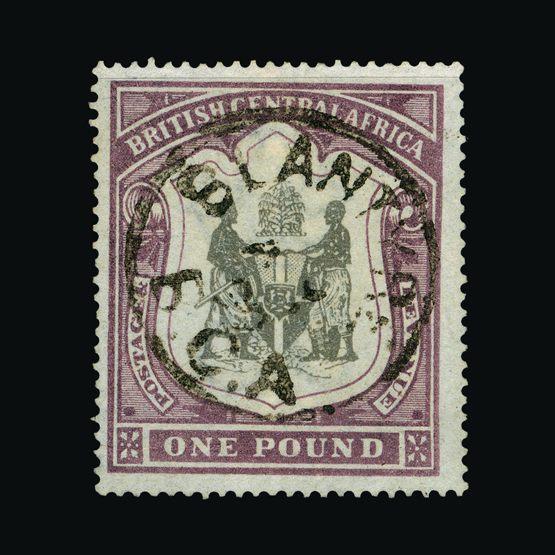 Lot 14346 - nyasaland 1897-1900 -  UPA UPA Sale #79 worldwide Collections