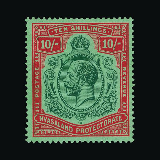 Lot 14366 - nyasaland 1921-33 -  UPA UPA Sale #79 worldwide Collections