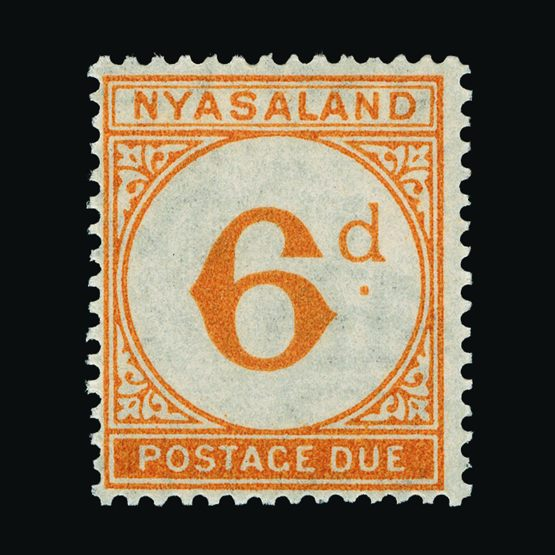 Lot 14405 - nyasaland 1950 -  UPA UPA Sale #79 worldwide Collections