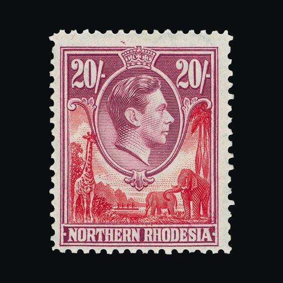 Lot 15223 - Rhodesia - Northern Rhodesia 1938-52 -  UPA UPA Sale #79 worldwide Collections