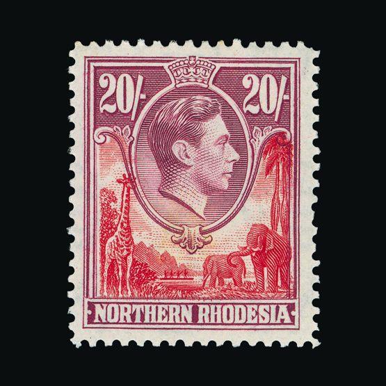 Lot 15227 - Rhodesia - Northern Rhodesia 1938-52 -  UPA UPA Sale #79 worldwide Collections
