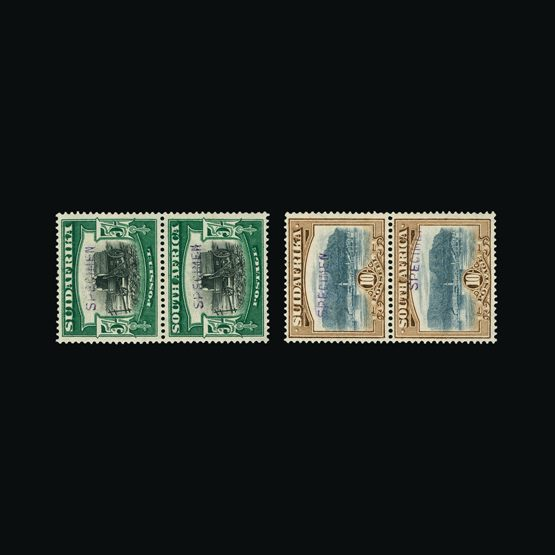 Lot 16011 - south africa 1927-30 -  UPA UPA Sale #79 worldwide Collections