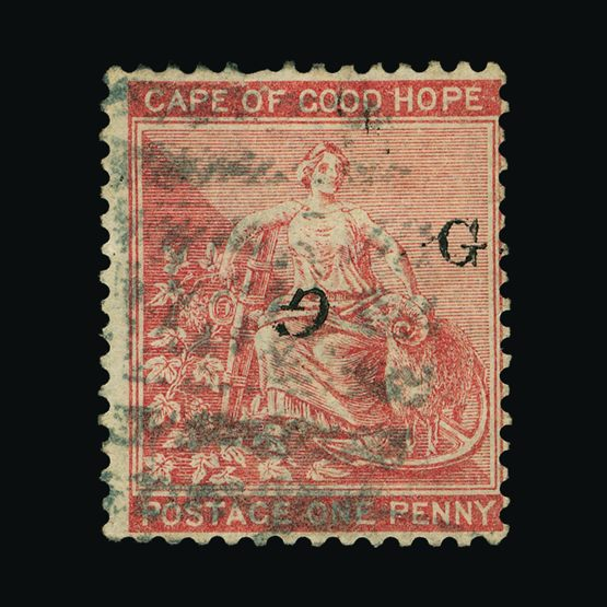 Lot 16152 - South Africa - Griqueland West 1878 -  UPA UPA Sale #79 worldwide Collections
