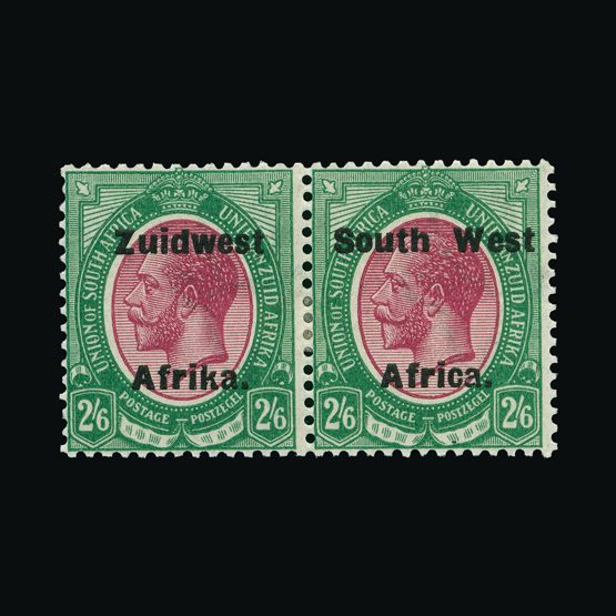 Lot 16170 - south west africa 1923-26 -  UPA UPA Sale #79 worldwide Collections