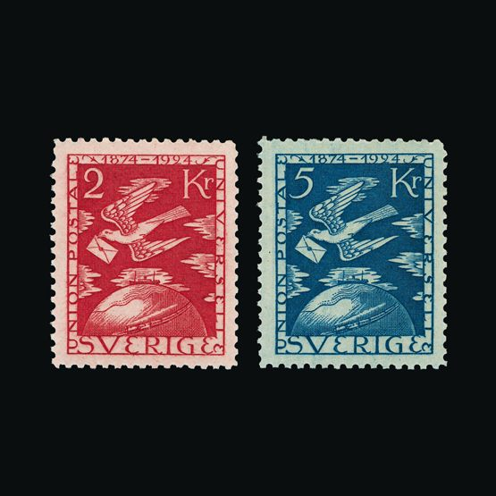 Lot 16989 - Sweden 1924 -  UPA UPA Sale #79 worldwide Collections