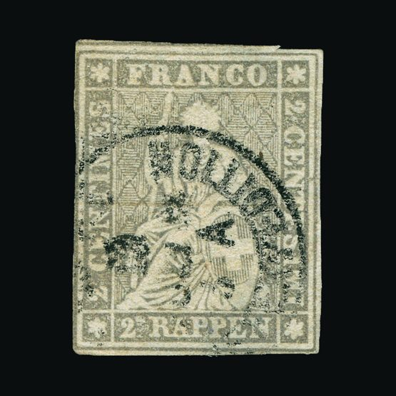 Lot 17018 - Switzerland 1854-1862 -  UPA UPA Sale #79 worldwide Collections