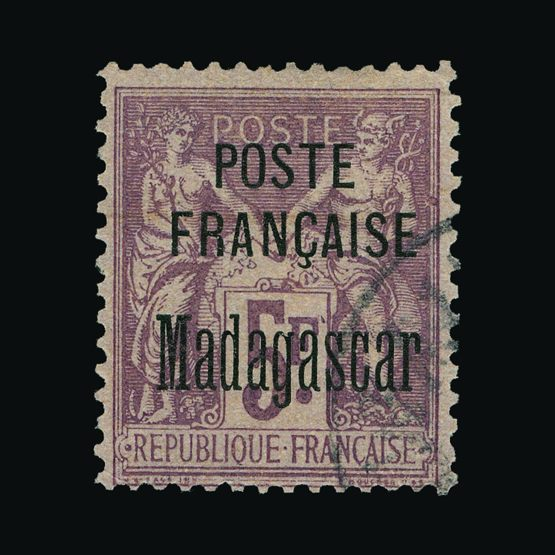Lot 18378 - France - Colonies - Madagascar - French Post Offices 1895 -  UPA UPA Sale #79 worldwide Collections