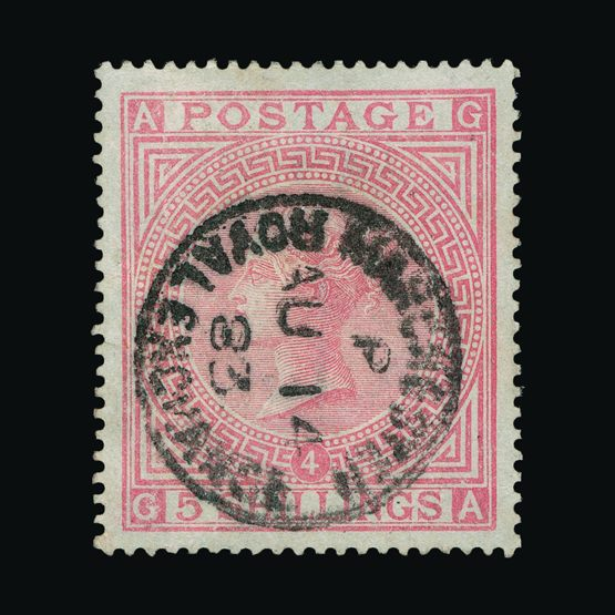 Lot 18597 - Great Britain - QV (surface printed) 1867-83 -  UPA UPA Sale #79 worldwide Collections