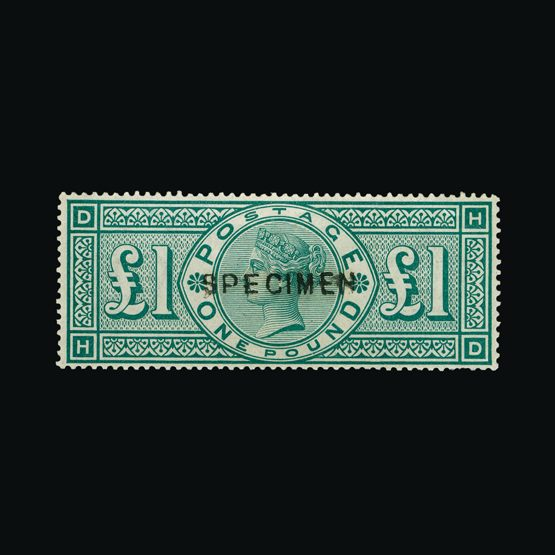 Lot 18646 - Great Britain - QV (surface printed) 1891 -  UPA UPA Sale #79 worldwide Collections